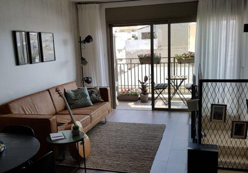 A Trendy Apartment Near Neve  Tzedek Tower
